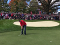 Team Europe Golfers Invite A Heckler Onto The Green To Try And Make A Putt