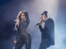 "Beyonce & Jay Z Perform ""Drunk In Love"" In London"