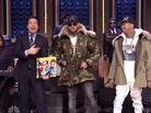 "Chris Brown & Tyga Perform ""Ayo"" On Jimmy Fallon"