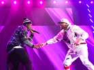 """Chris Brown Brings Out 50 Cent & G-Unit At The """"Between The Sheets"""" Tour"""