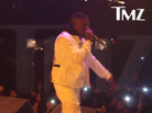 Boosie's Security Knocks Fan Off Stage