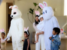 Kanye West & Tyga Dress Up As Easter Bunnies