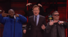"Run The Jewels Perform ""Lie, Cheat, Steal"" On Conan"