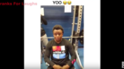 Hilarious Fail After Kid Bets $20 That He Can Bench 185 Pounds