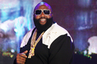 """Rick Ross Hits The Studio With Bobby Womack For """"Maybach Music 5"""""""