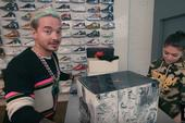Watch J Balvin Rack Up $4,000 In Sneakers At NYC's Stadium Goods