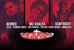 "Episode 3 Of Our Exclusive ""Under The Influence"" BTS With Berner, A$AP Rocky, Wiz Khalifa, Joey Bada$$ & More"
