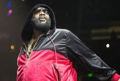 "Rick Ross Performed ""Box Chevy"" While Walking Adrien Broner To The Ring"