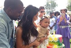 "Kanye Celebrates North West's First Birthday With ""Kidchella"""