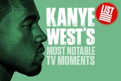Kanye West's Most Notable TV Moments