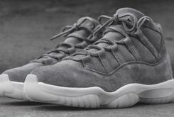"Pinnacle ""Suede"" Air Jordan 11s Unexpectedly Release At Select Boutiques"