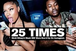 25 Times Nicki Minaj & Meek Mill Were Boo'd Up On Instagram