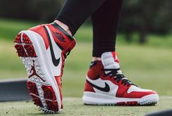 """Chicago"" Air Jordan 1 Golf Shoes Will Make Their Debut This Week"