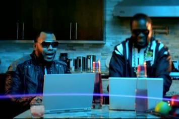 "Flo Rida Feat. Akon ""Who Dat Girl"" Video"