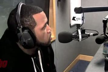 "Lloyd Banks ""Freestyle In London With DJ MK On KISS FM"" Video"