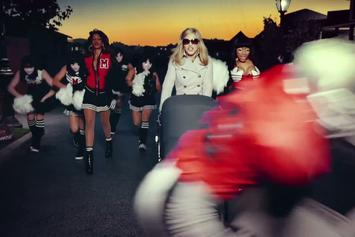 "Madonna Feat. Nicki Minaj & M.I.A. ""Give Me All Your Luvin' "" Video"
