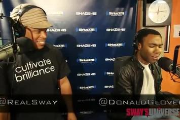 """Childish Gambino """"Sway In The Morning Freestyle"""" Video"""