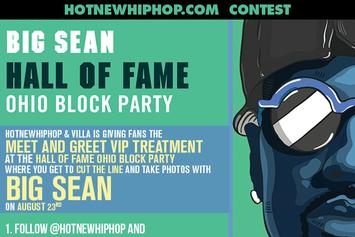 Big Sean VIP Meet and Greet Contest