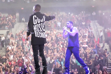 "Drake & Big Sean Perform ""All Me"" Live In Detroit"