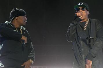 "Nas Brings Out Jay Z & Diddy, Performs ""Illmatic"" At Coachella"