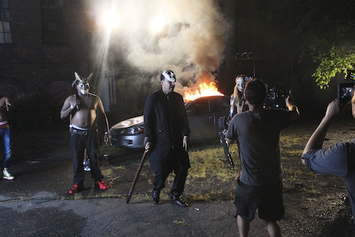 "BTS Of French Montana's ""Don't Panic"" Video"