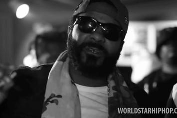 "Jim Jones Feat. Rowdy Rebel ""Still Repping Time"" Video"