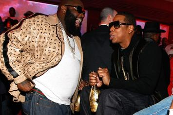 "Rick Ross Announces New Track With Jay Z, ""Movin' Bass"" [Update: Artwork Revealed; Single Expected To Drop Later Tonight]"