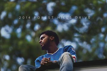 "J. Cole Announces ""2014 Forest Hills Drive"" Album, Releases Artwork"