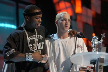 "50 Cent Says He Has Song With Eminem On ""Street King Immortal"""