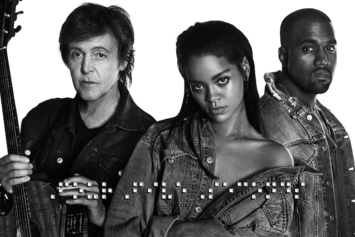 "Listen To Rihanna, Kanye West & Paul McCartney's New Song, ""FourFiveSeconds"""