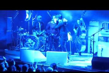 """Q-Tip Performs """"Excursions"""" With Jack White At MSG"""