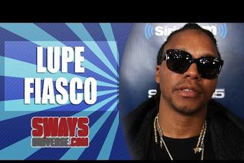 """Lupe Fiasco Explains Why """"Chopper"""" is """"Too Damn Long"""" On Sway In The Morning"""