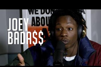 Joey Bada$$ Freestyles On Hot 97