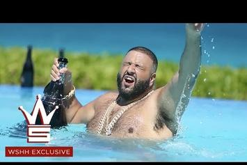 """DJ Khaled Celebrates """"Hold You Down"""" Going #1 By Partying In The Bahamas"""
