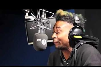 """Danny Brown """"Fire In the Booth Freestyle"""" Video"""