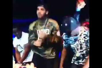 Drake Snatches Diddy's Mic At All-Star Weekend Performance