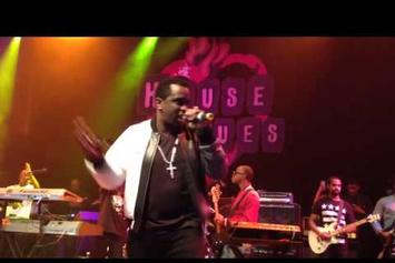"Diddy Joins Faith Evans For ""I'll Be Missing You"" In L.A."