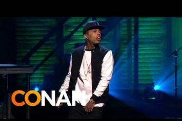 "Kid Ink & DJ Mustard Perform ""Show Me"" On Conan"
