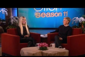 "Nicki Minaj Talks On ""American Idol"" On Ellen"
