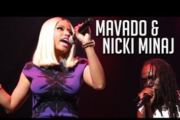 "Mavado Feat. Nicki Minaj ""Brings Out Nicki Minaj @ On Da Reggae Tip "" Video"