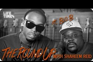 "B.o.B ""The Round Up With Shaheem Reid"" Video"