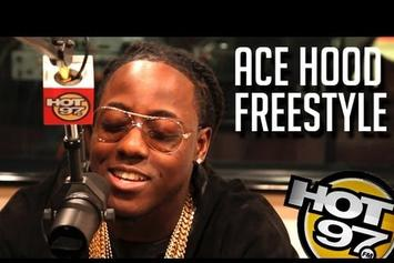"Ace Hood ""Funkmaster Flex Freestyle"" Video"