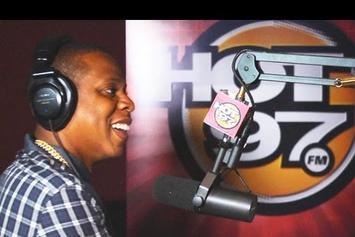 """Jay-Z """"Talks """"MCHG"""", Twitter Use, & More With Hot 97's Angie Martinez"""" Video"""