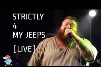 """Action Bronson Feat. Danny Brown """"Strictly 4 My Jeeps (Live In London)"""" Video"""
