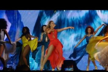 "Beyonce Premieres ""Standing On The Sun"" In Belgium"