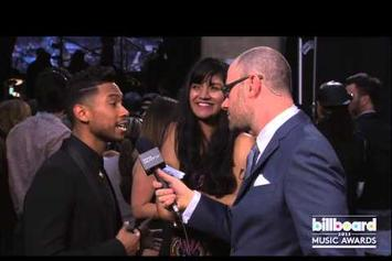 "Miguel ""Talks To Fan He Landed On At Billboard Awards"" Video"