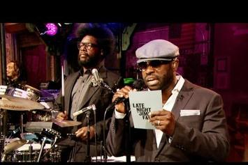 """The Roots """"Freestyle On Jimmy Fallon"""" Video"""