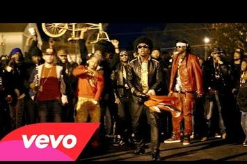 "Trinidad James Feat. T.I., Young Jeezy & 2 Chainz ""BTS Of ""All Gold Everything (Remix)"""" Video"