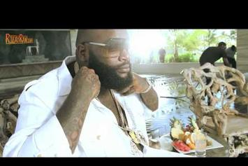 """Rick Ross Feat. Drake & Wale """"BTS Of """"Diced Pineapples"""""""" Video"""