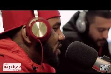 Game Freestyles On The Cruz Show